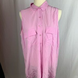 Equipment pink blouse